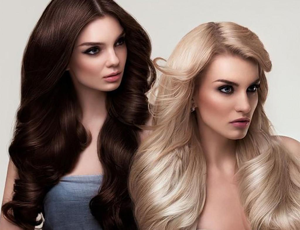Темные и светлые волосы