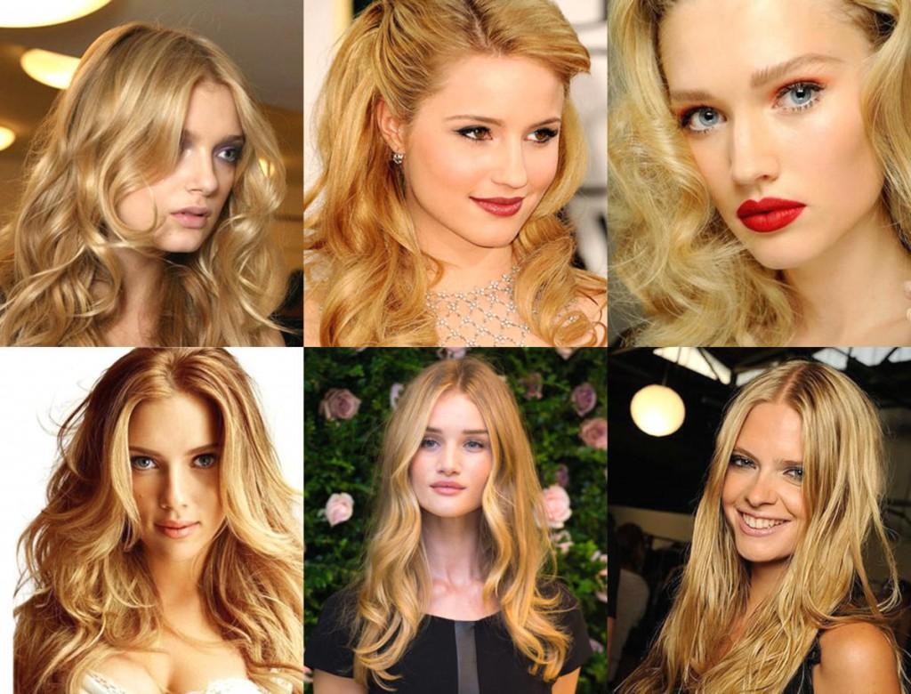Светло русык оттенки волос и блонд