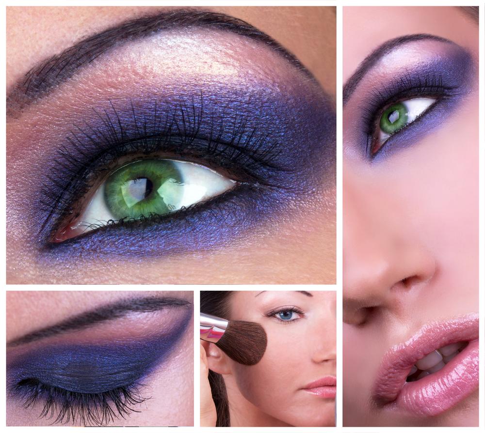 Насыщенный макияж для зеленых глаз