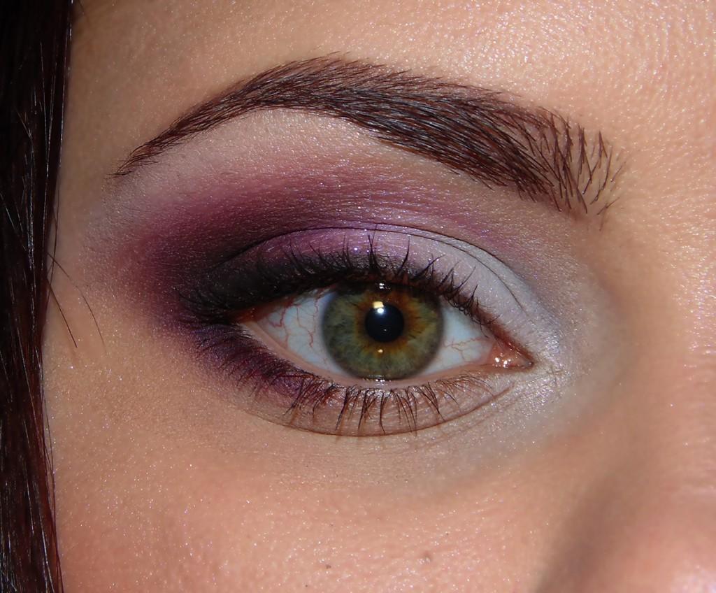 Оригинальный макияж для зеленых глаз
