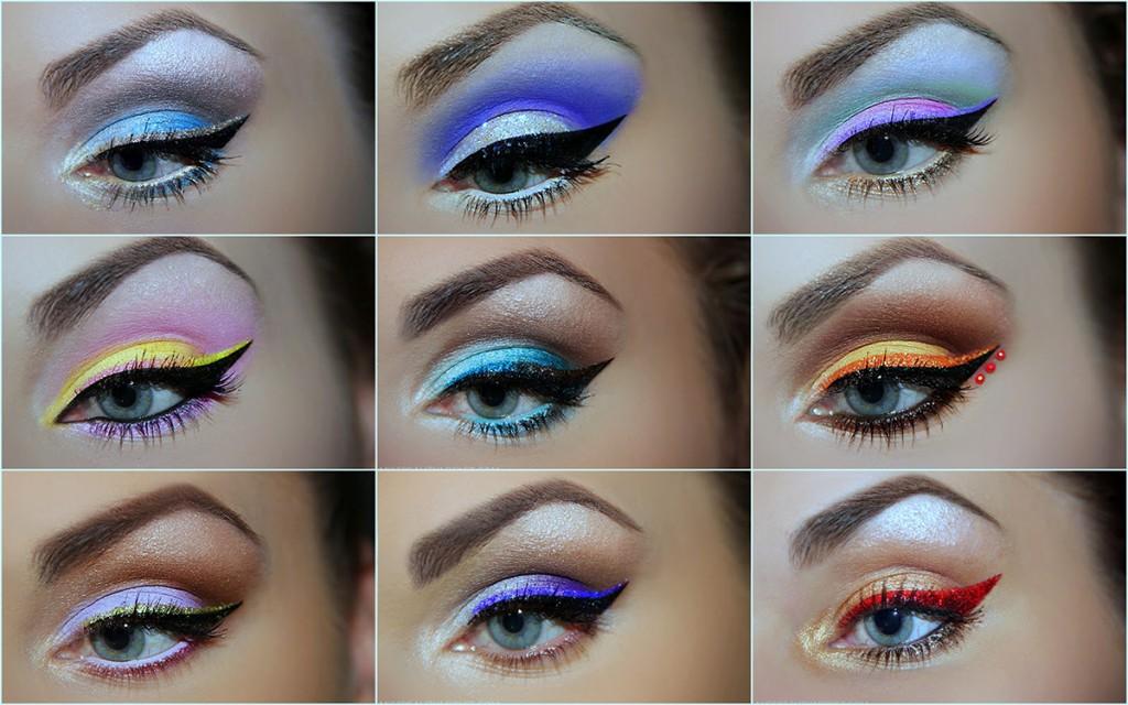Варианты макияжа для голубых глаз