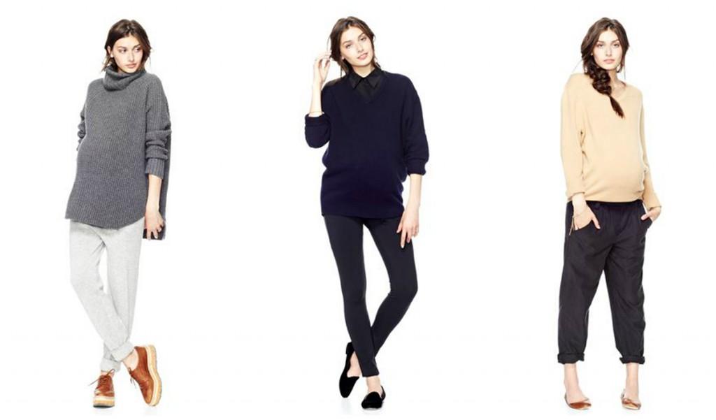 Модная и красивая одежда для беременных