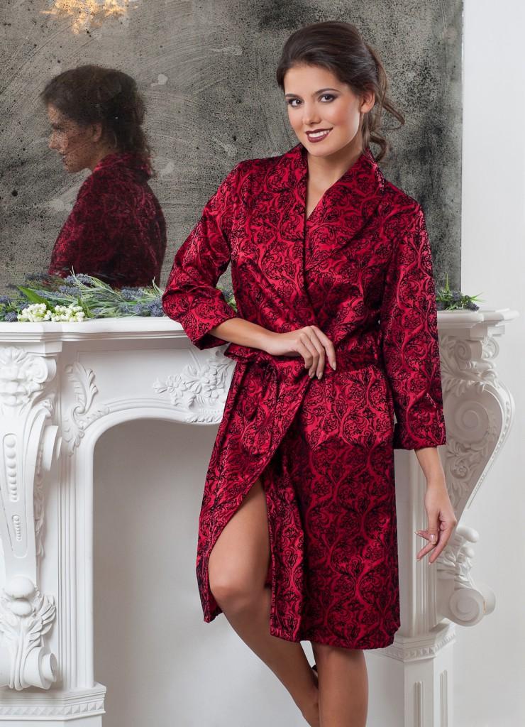 Модный домашний халат