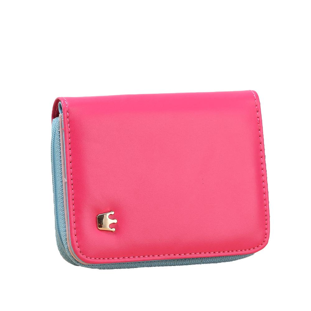 Розовый небольшой кошелек