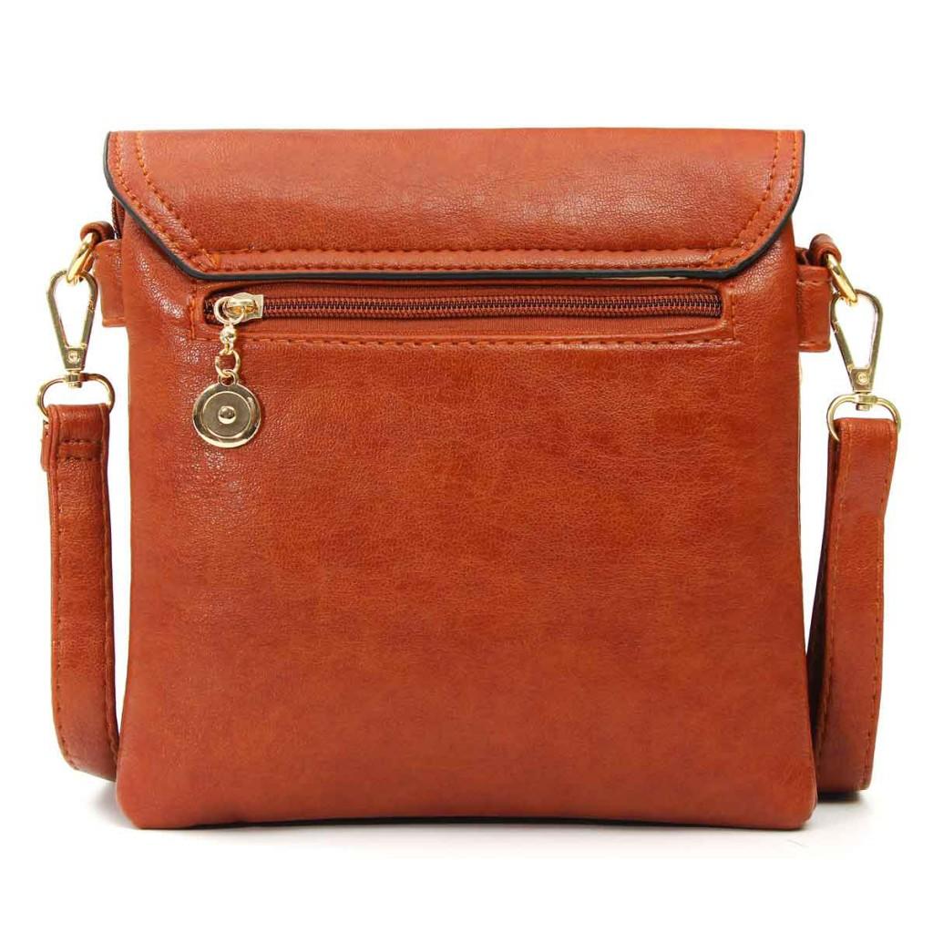 Квадратный модный кожаный кошелек