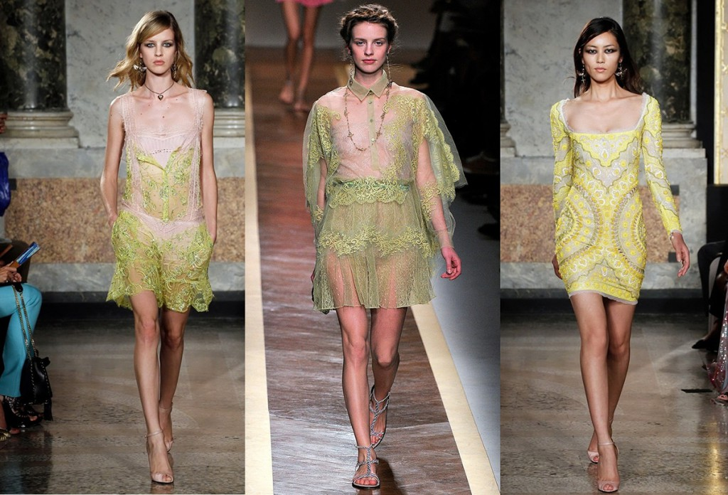 Модные кружевные и гипюровые платья 2016