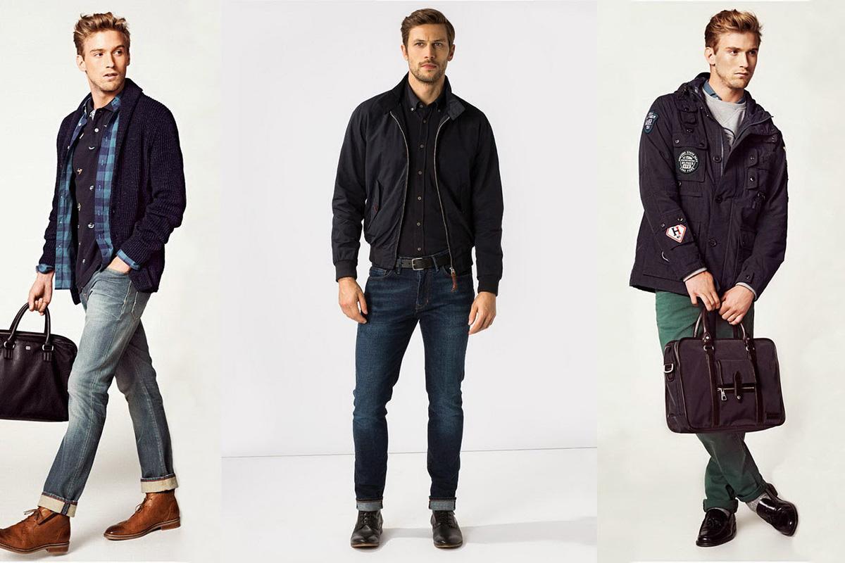 Модные джинсы с ширинкой на коленях