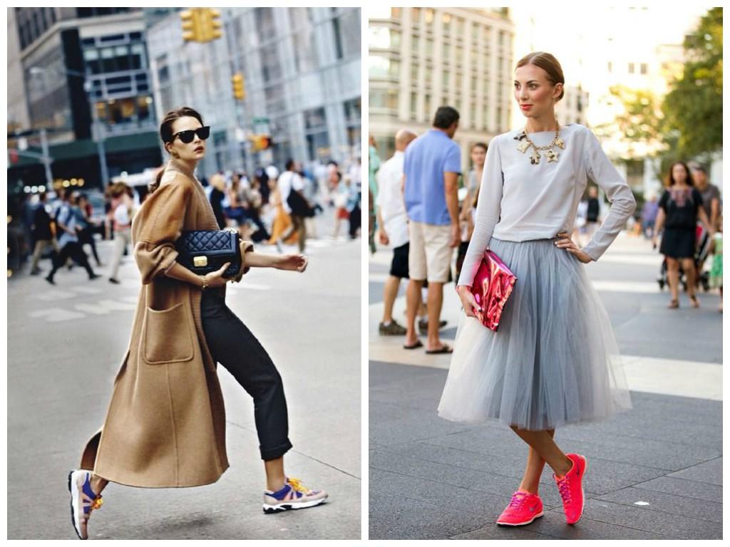 Модные женские луки весна лето 2017