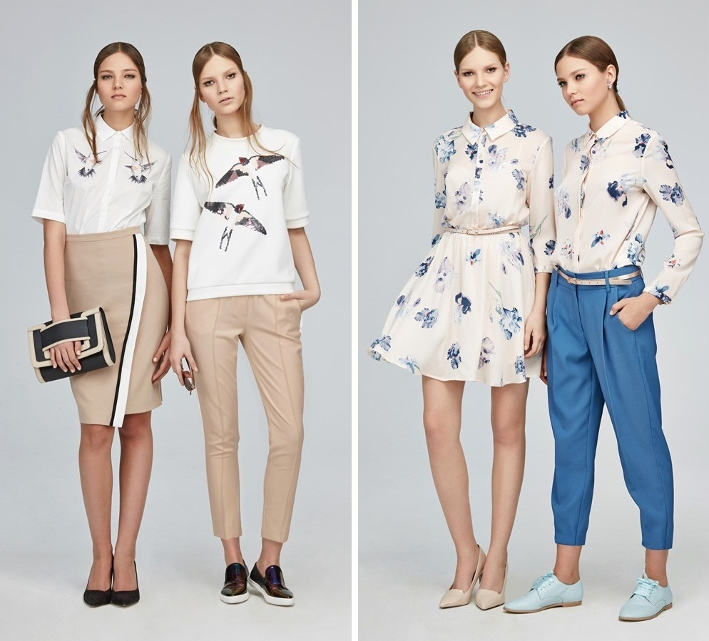 Модные образы с брюками и юбками