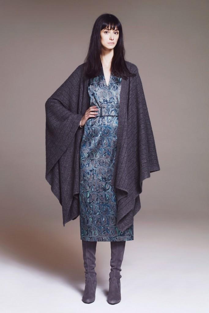 Модный лук с платьем