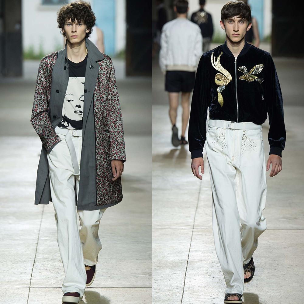 Мужские белые штаны с пиджаками
