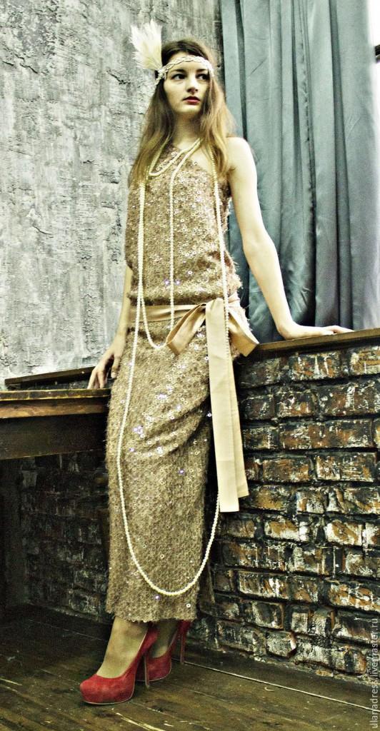 Ретро платье с современными деталями