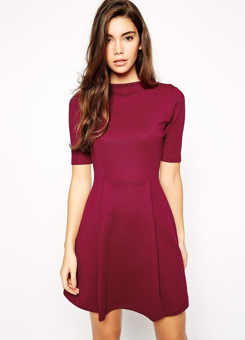 8221bdca469 Платье цвета марсала ...