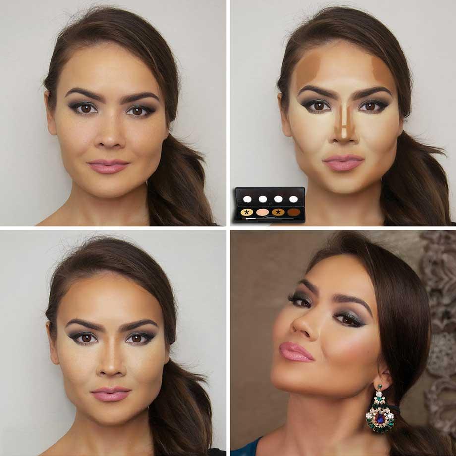 Правильное моделирование лица
