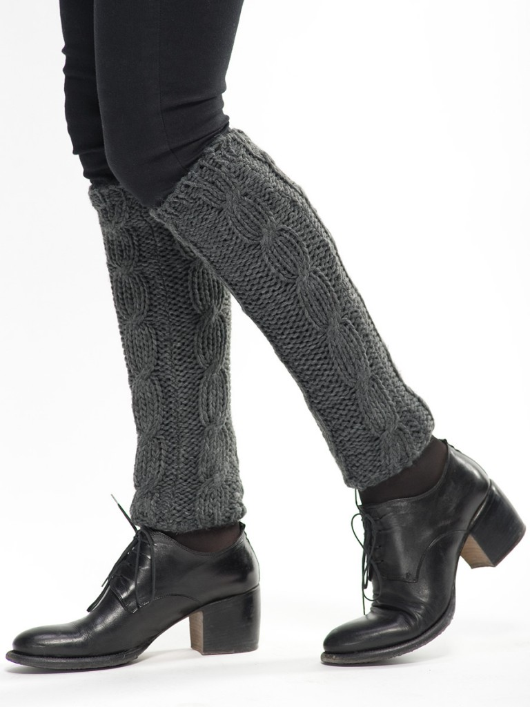 Гетры с ботинками