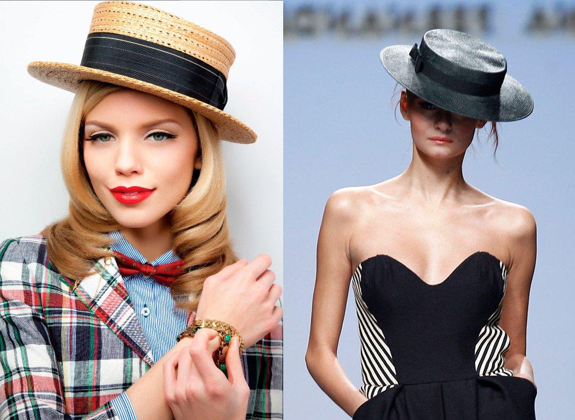 Модная женская шляпка купить