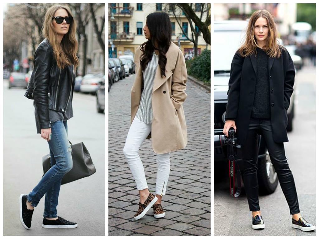 Образы с прогулочными кроссовками