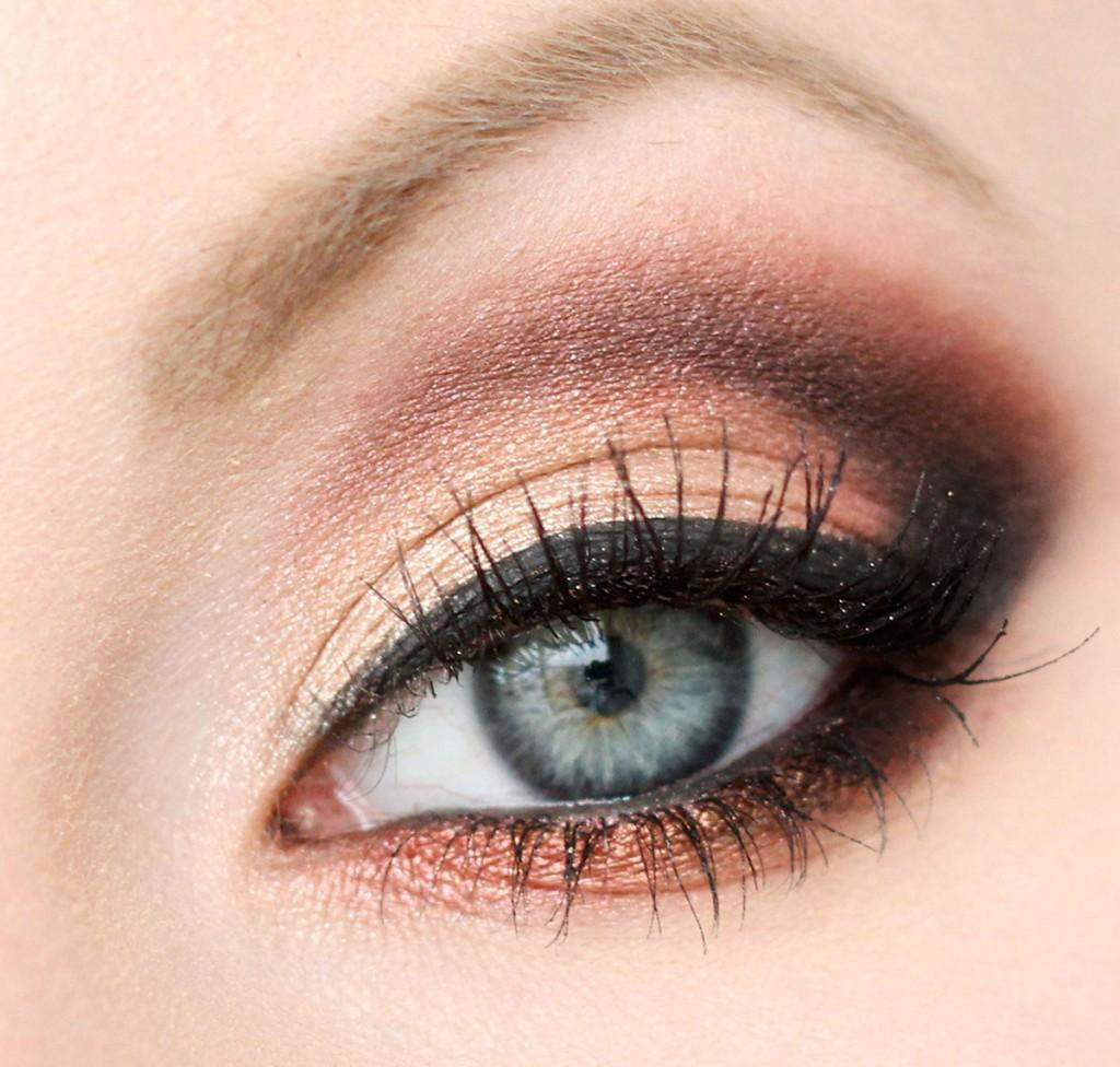 Мейкап для серых глаз