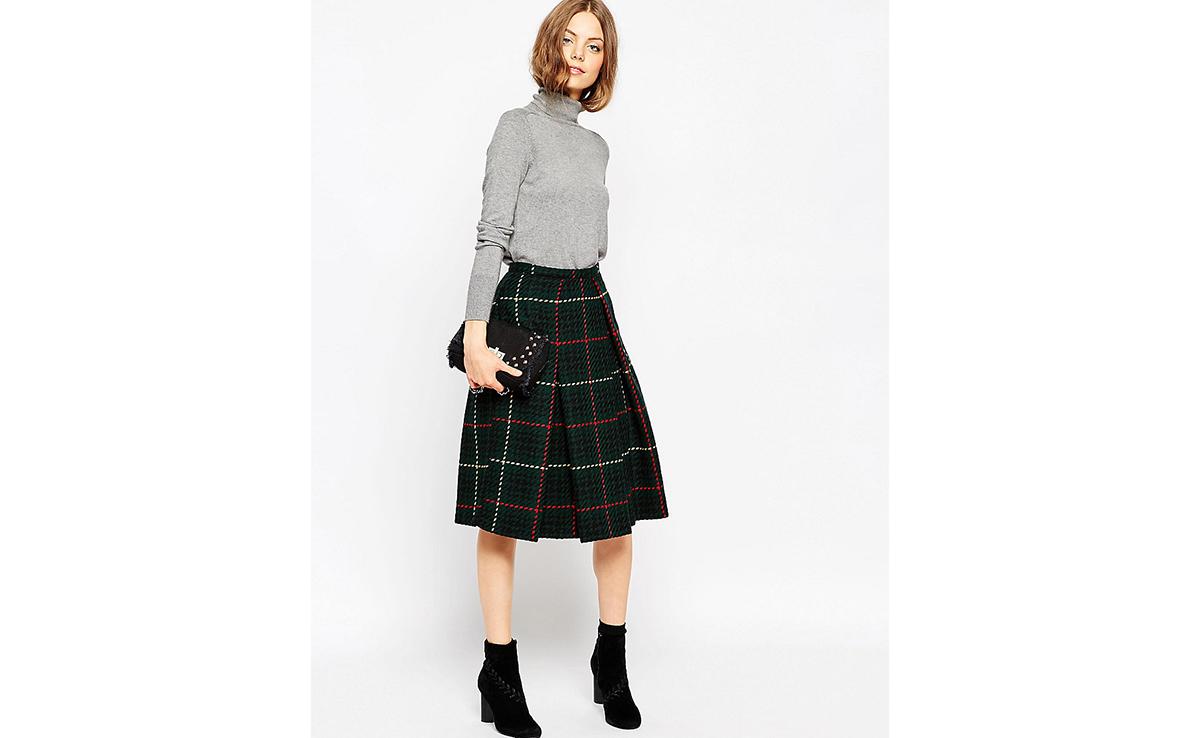 Как сшить юбку на зиму 810