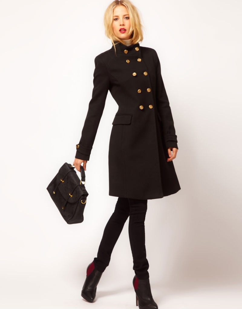 Пальто в английском стиле