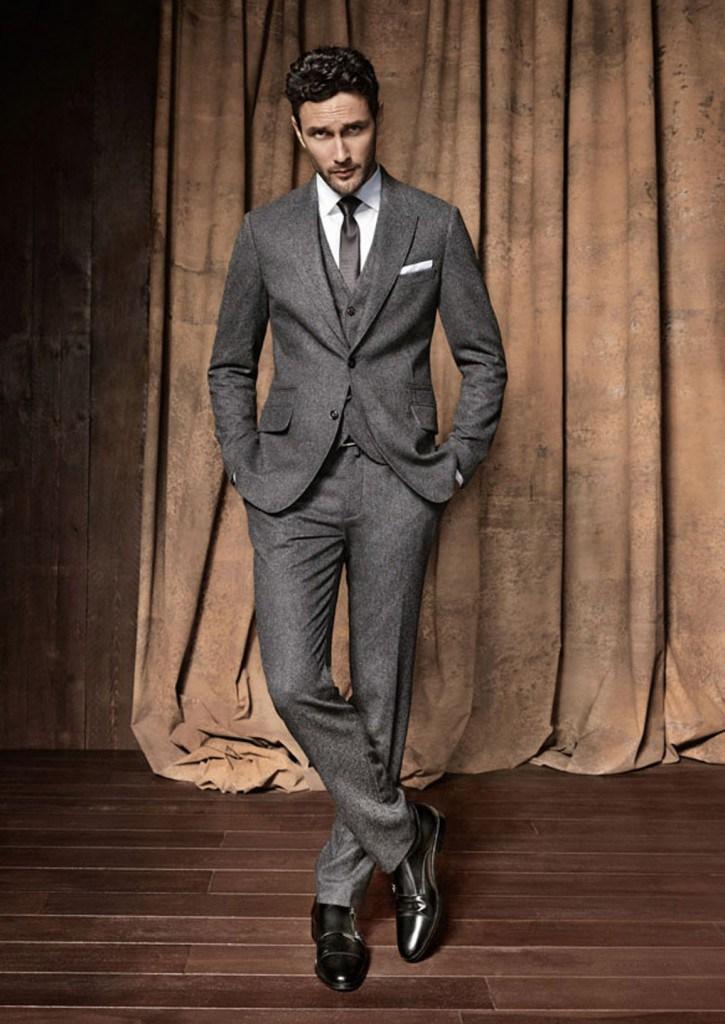 Мужской костюм в английском стиле
