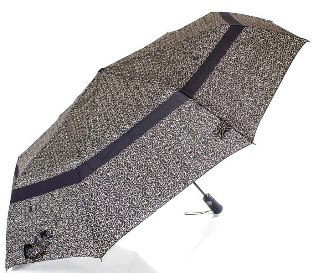 Мужской зонт автомат с узором