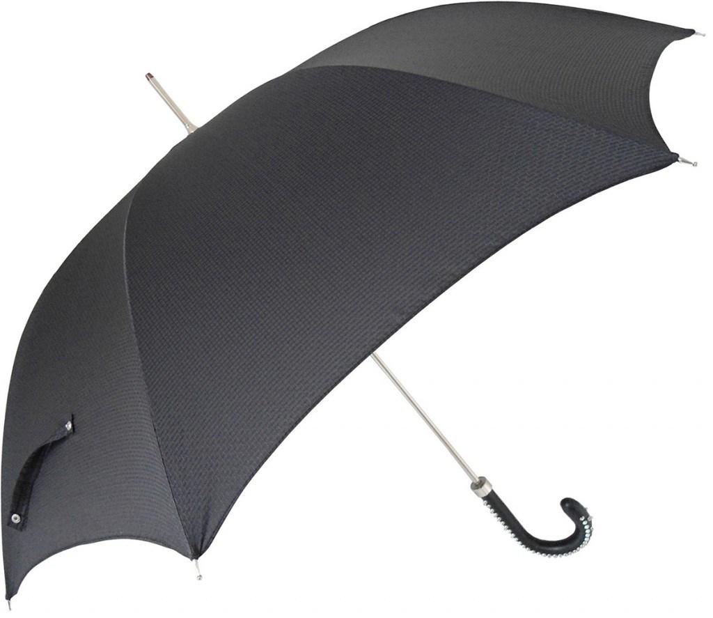 Каркас темного мужского зонта