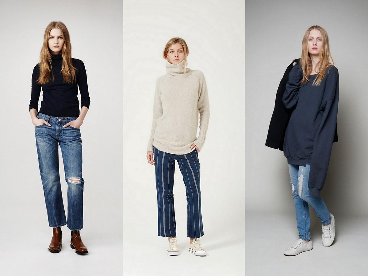 Стильные джинсы бойфренд женские