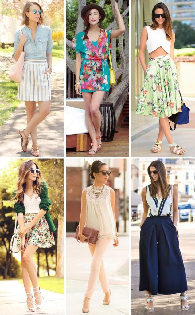 Стильные женские уличные образы с красивой обувью