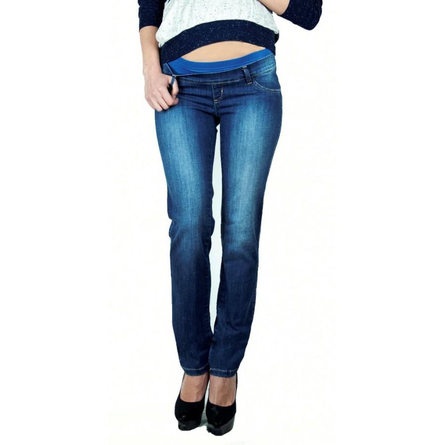 Модные джинсы для женщин с эластичной вставкой на животе