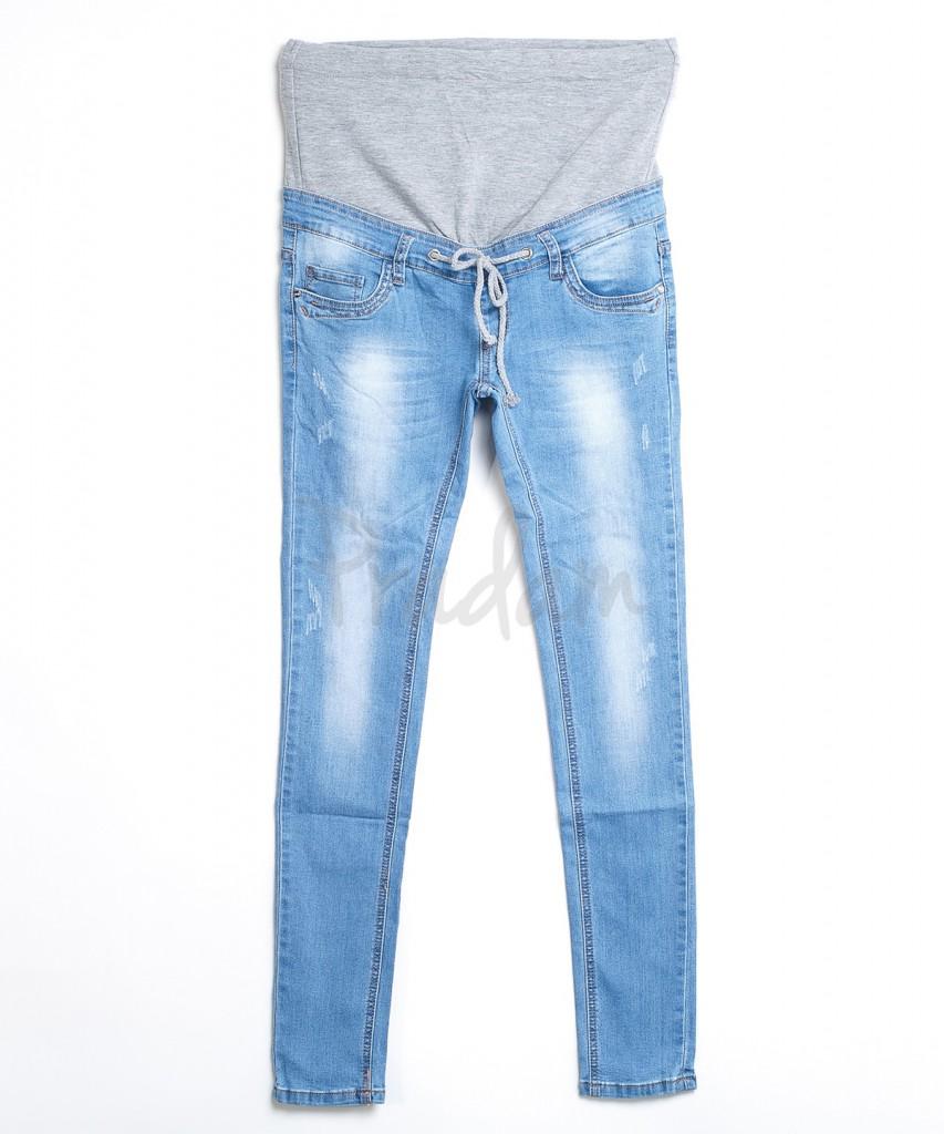 Светлые джинсы для беременных