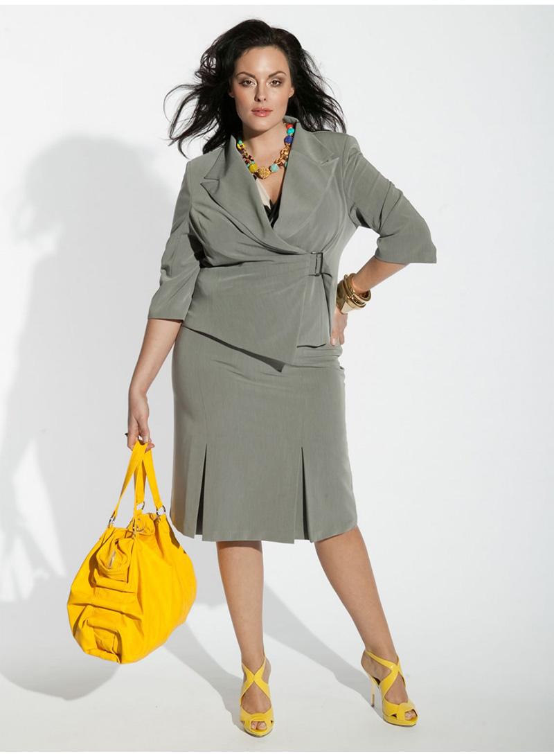 Фото костюмы женские для полных