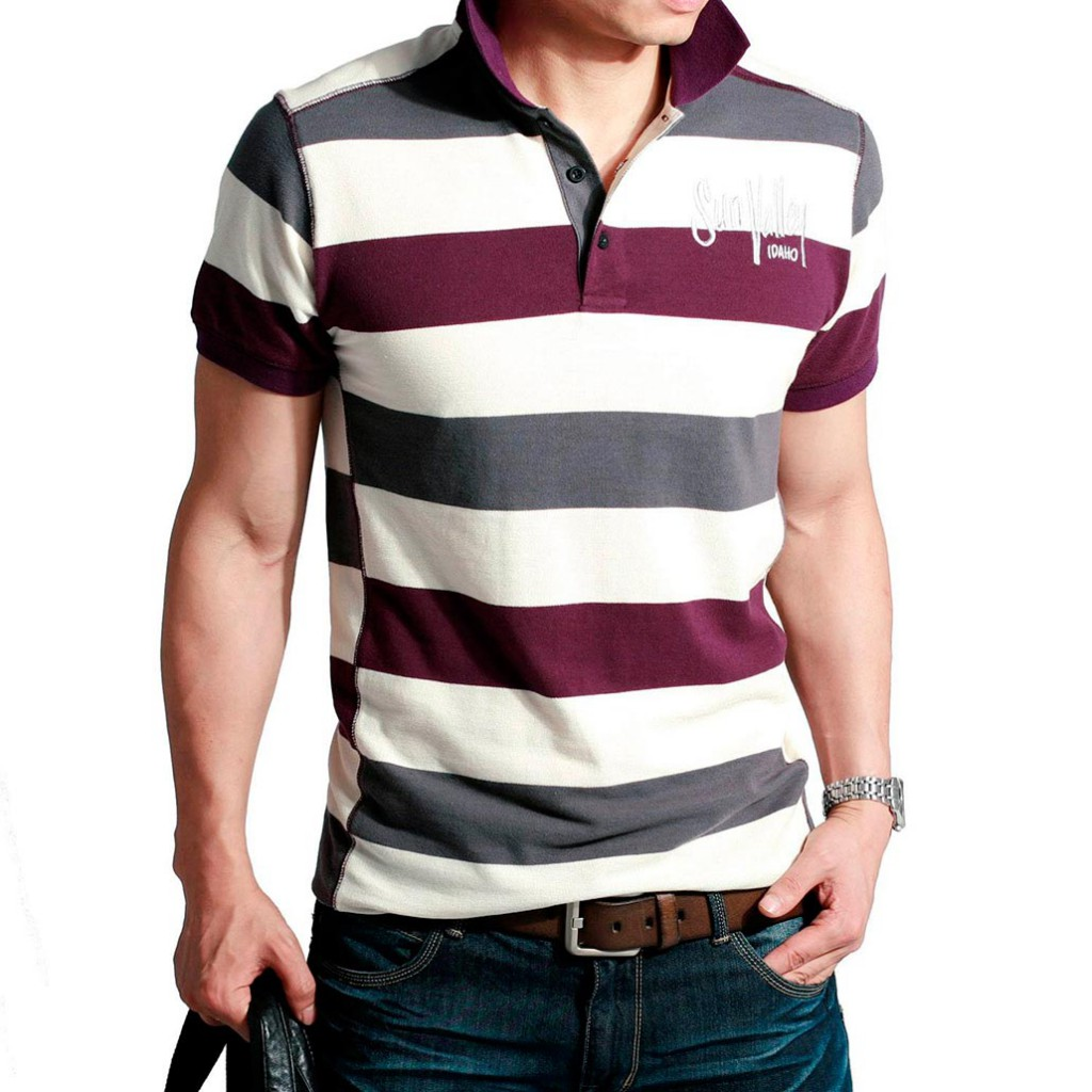 Полосатая мужская футболкаПолосатая мужская футболка