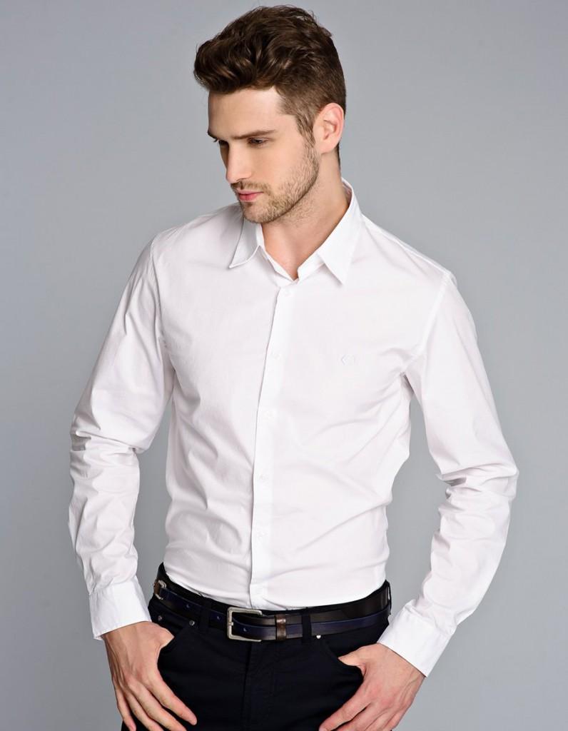 Белая рубашка модно или нет мужчины