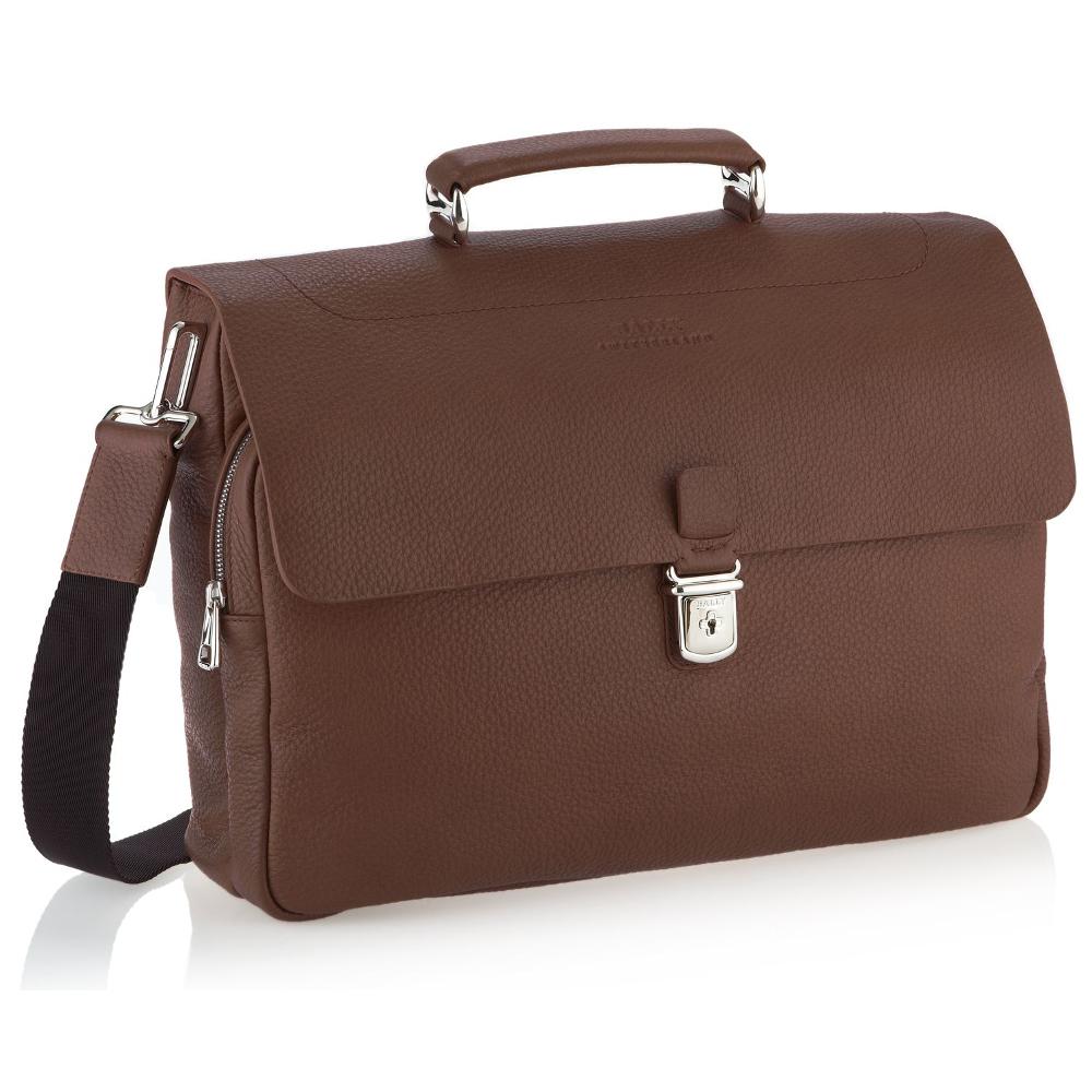 Мужской коричневый портфель