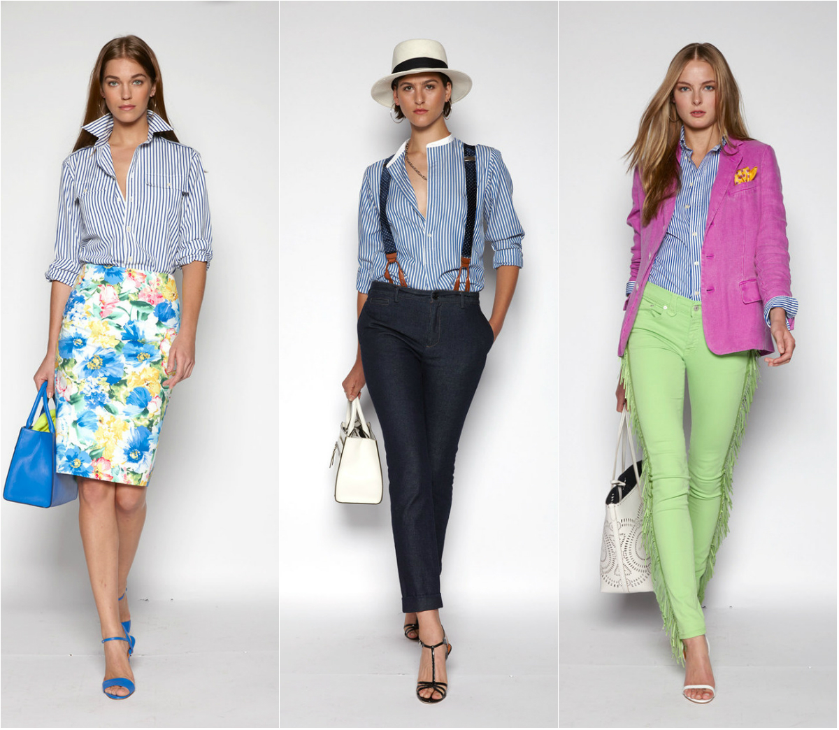 b9381afcd0c Модные Женские Рубашки Весна Лето 2016  Белые