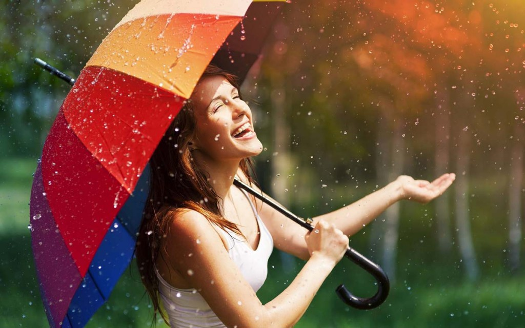 Модные женские зонты