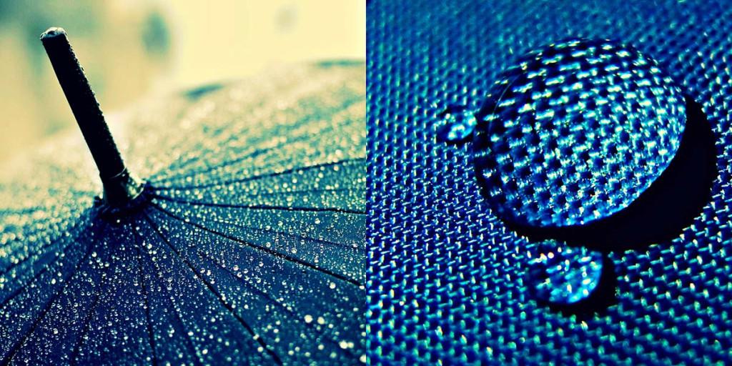 Женский зонт водоотталкивающий