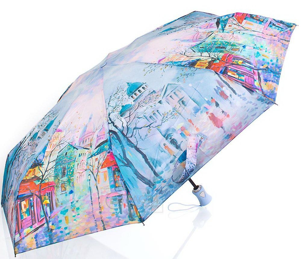 Стильный женский зонт с рисунком