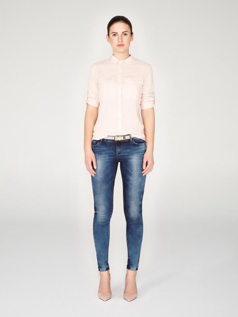 Красивые джинсы скинни
