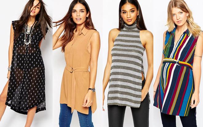 Модные Туники Для Женщин