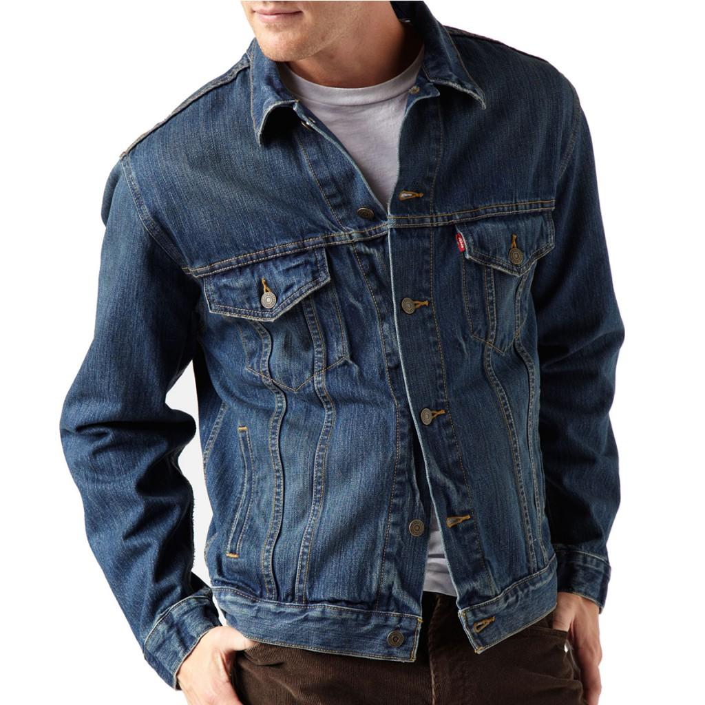 Стильная джинсовая мужская куртка