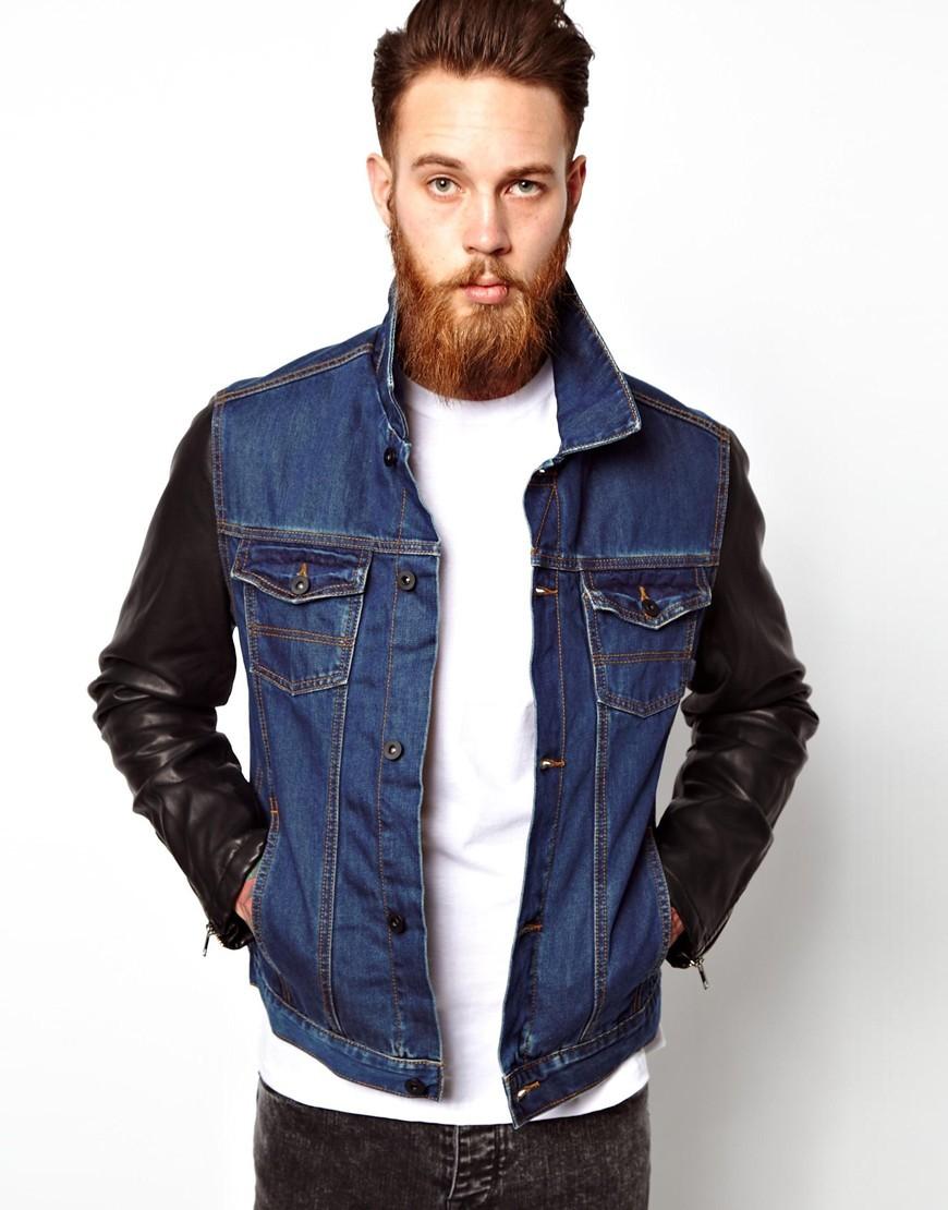 Джинсовые куртки для байкеров
