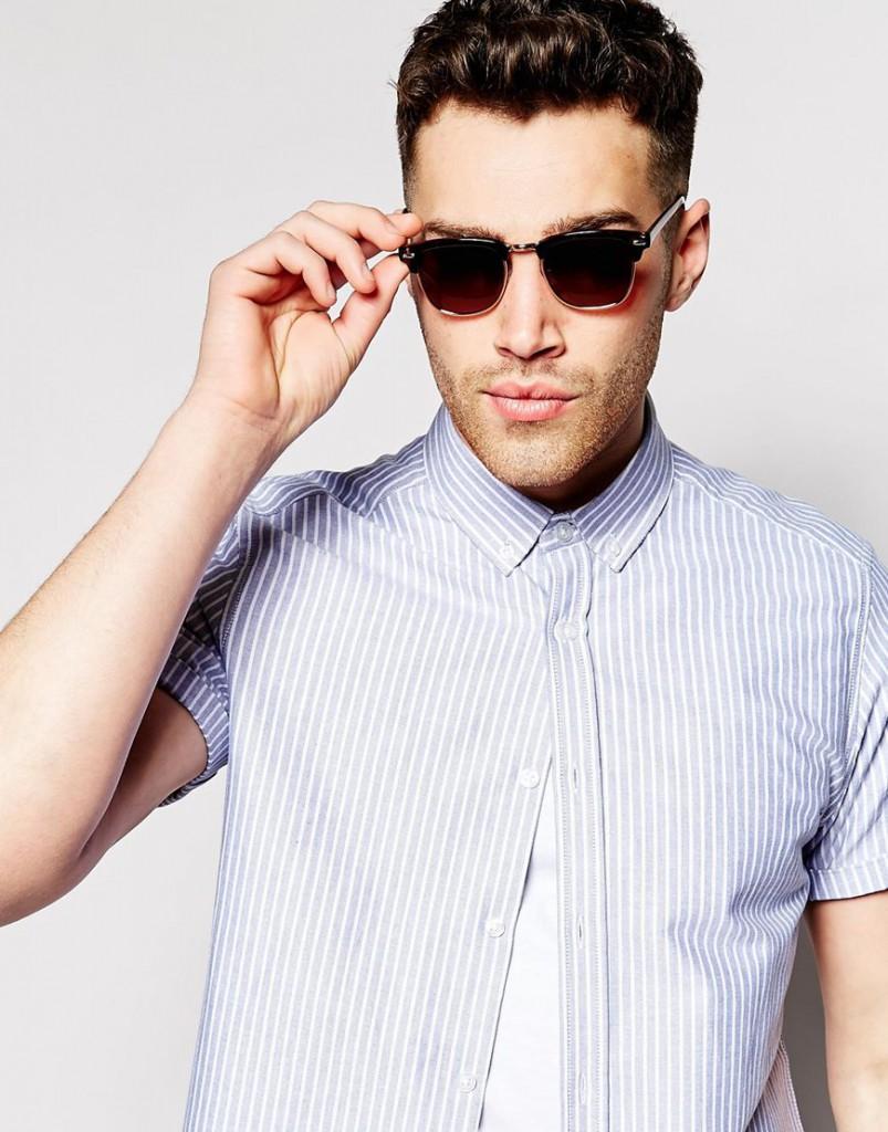 Мужские очки в ретро стиле