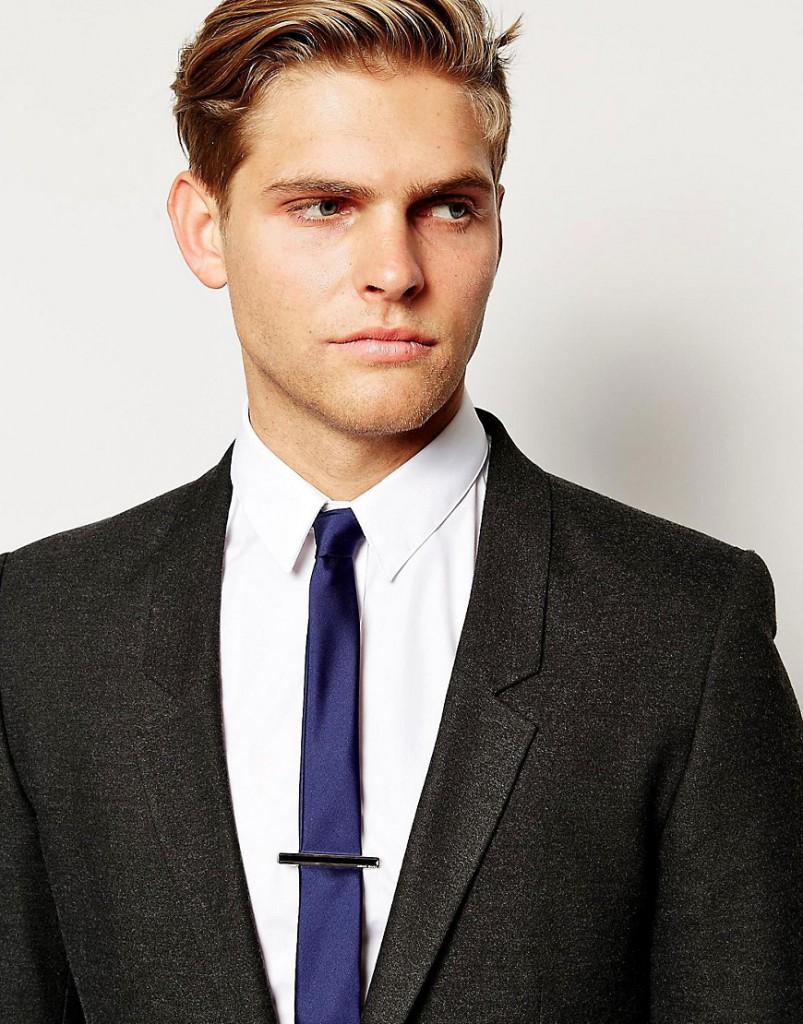 Стильный держатель для галстука hugo boss