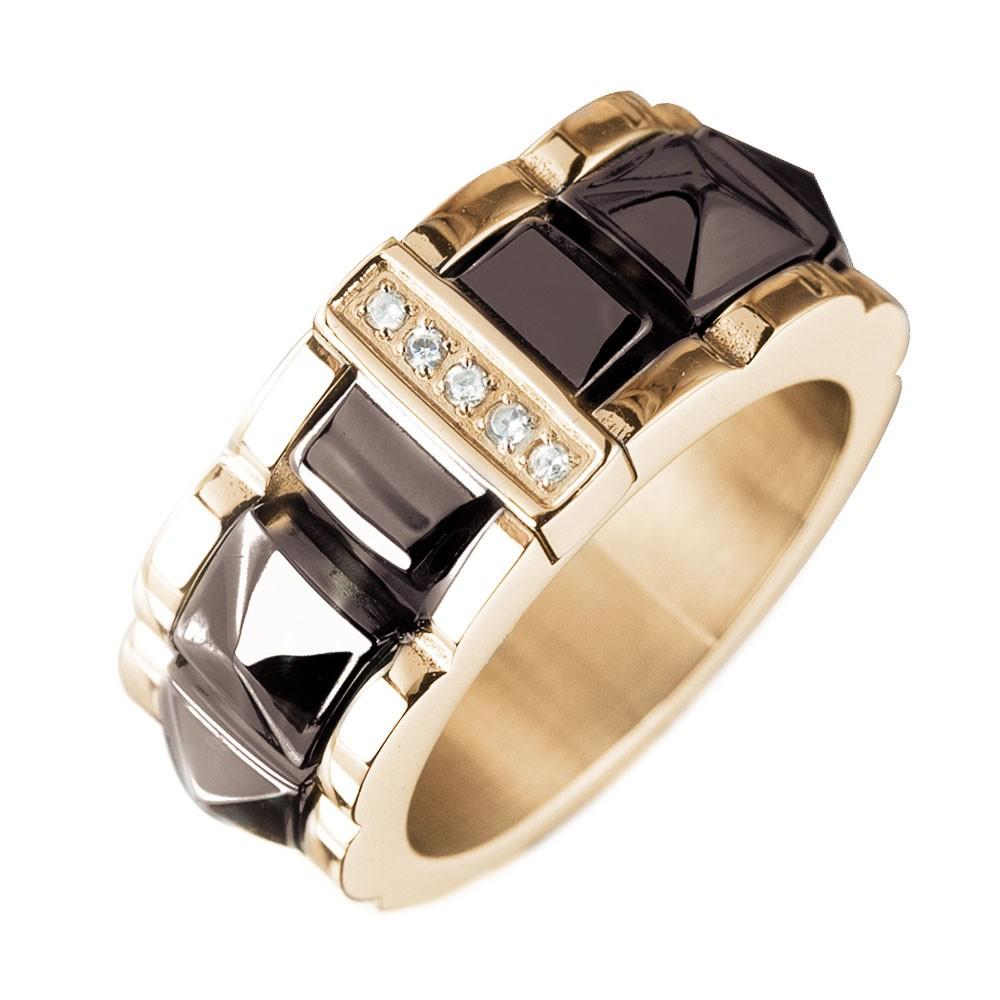 Стильный мужской перстень с бриллиантами