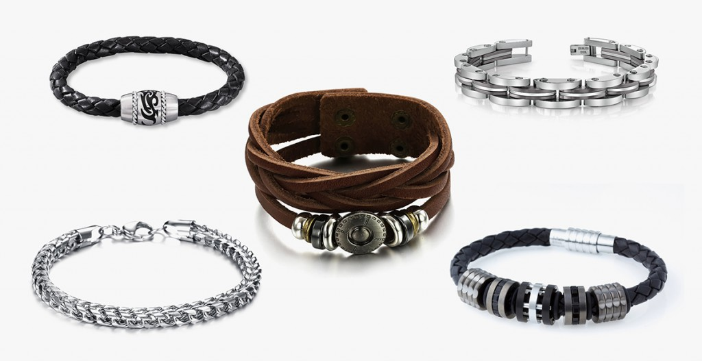 Модные мужские браслеты