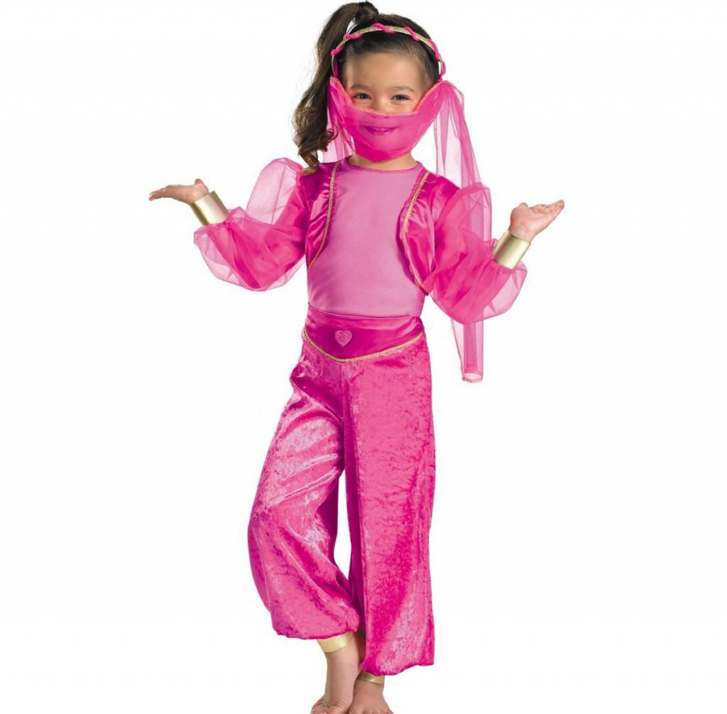 Розовый костюм крсавицы с востока утренник