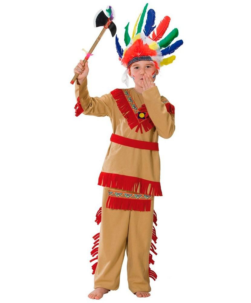 Костюм индейца в садик