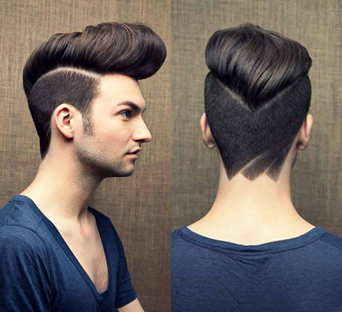У парня новая причёска